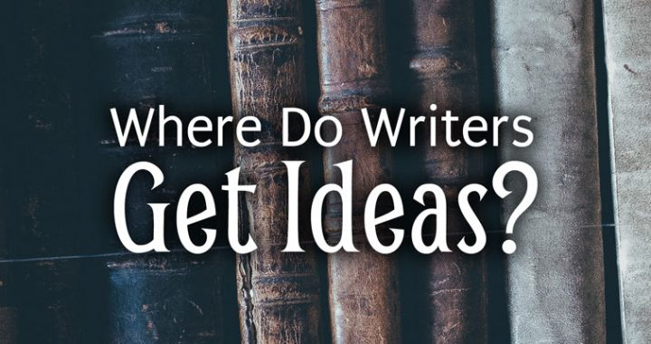 Where Do Writers Get Ideas? photo of books