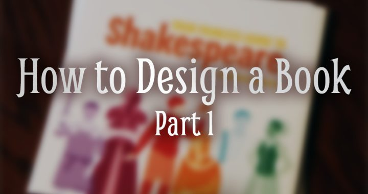 How to Design a Book Part 1