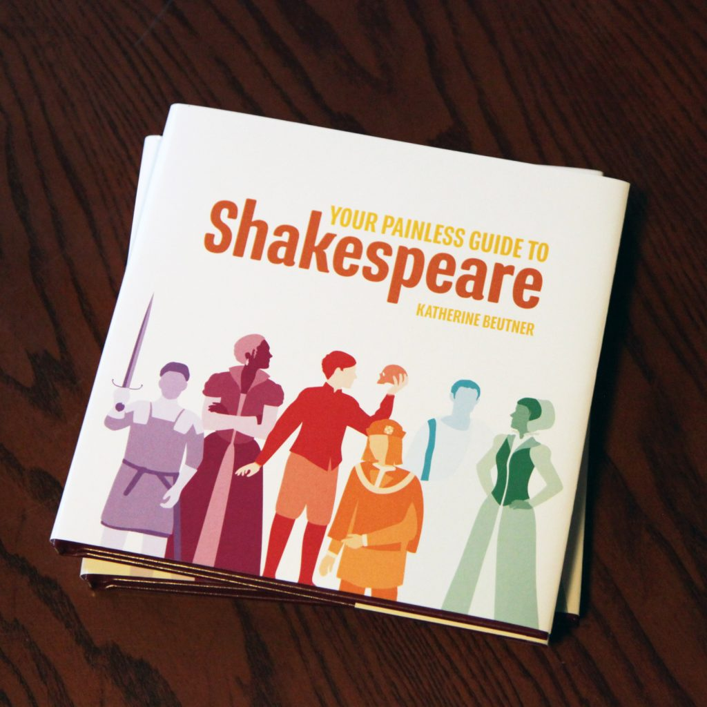 Your Painless Guide to Shakespeare books on table